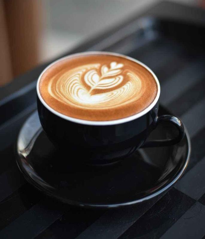 Katti rakastaa kahvia ja aina kahvilassa juo catpuccinoja..